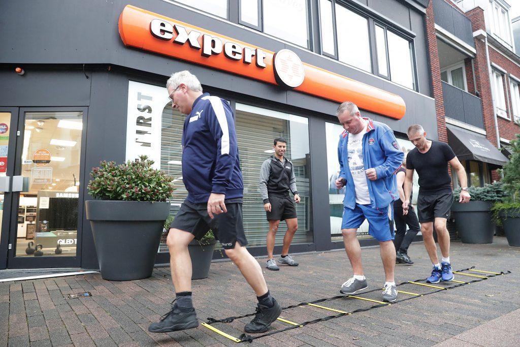 Bedrijfsfitness outdoor | Medewerkers fitter | MR4PT